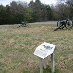Cannons at this battleground site