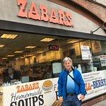 in front of Zabar's