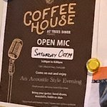 Open Mic, Second Saturday every month, Trees Restaurant, 1385 Alberni Hwy, Parksville, BC