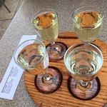 White wine sampler