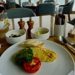 Chef's Made-to-Order Omelette, with House Made Yogurt & Fruit