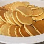 World Cafe breakfast - pancakes