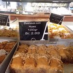 Baklava - because it's not Greek without it.
