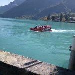 In Lake Brienz