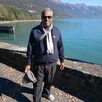 In front of Lake Brienz