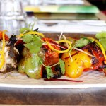 Tandoori seasonal vegetable.