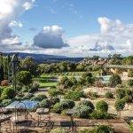 Terrasse avec vues sur Bonnieux et le Petit Luberon