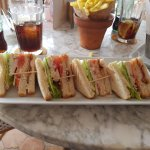 After my review we returned for lunch. Superb Club Sandwich