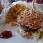 Burger Kefta
