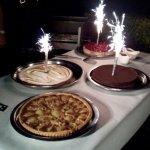 Voici les gâteaux ou même voici les tartes pour mon mariage. Un honte pour vous les propriétaire