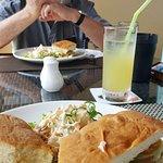Marlin Foccaccio sandwich- Delicious.