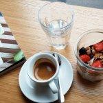 Espresso and yoghurt
