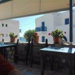 Scorcio del portico/ristorante esterno