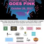 October 26th we are donating 10% of all proceeds to Susan G Komen