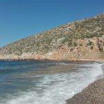 La spiaggia di sassi