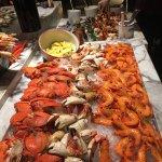 Crab and prawn station