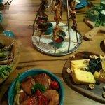 Interesting presentation of dishes