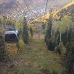 Gondola ride to Telluride