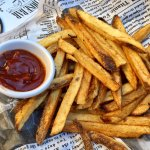 Handcut fries are killer!!!  Even better with the chipotle ketchup!