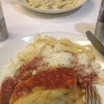Chicken Parmigiana Special & Carbonara