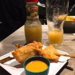 炸雞肉串(Brochettes Satay)