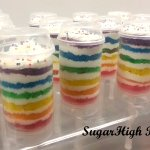 Rainbow Cake Push Ups