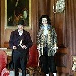 Jane Austen tour with a Holloween Mr Darcy
