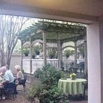 Presidents Quarters Inn courtyard Savannah Georgia