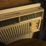 sad, old, noisy air conditioner