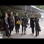 Lovely & cheerful Thai divers