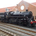 North Yorkshire Moors Railway - in Whitby Station.
