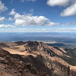 View from Pikes Peak September 14 pm.