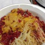 Baked Spaghetti (half portion)