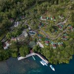 Dabirahe Resort from the Sky - Hidden Paradise