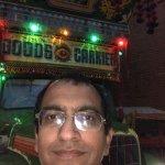 In front of Punjabi Restaurant