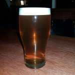 Perfect pint of pale ale.