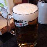 Kaltes Bier, lecker