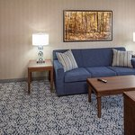 Your own guest suite features a separate living room.
