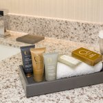 Premium bath amenities