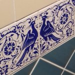 Tiles from the Turkish Baths