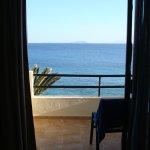 Vue sur l'ile de Lobos et Fuerteventura.