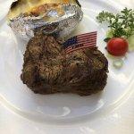 Beef Steak Tenderloin with Jacket potato
