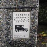 scenic highway marker