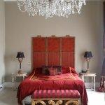 Deluxe suite bed.