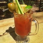 A yummy Bloody Mary from the Market's very own Ice Cream Shoppe and bar.