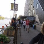 Walk near the Lakefront Brewery