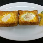 Yummy Cheesy Egg Toast