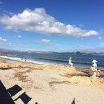 Beach just 2 mins away