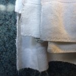 Frayed towels
