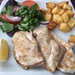 Filete de pollo plancha